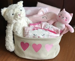 Chloe Kitty Baby Gift Basket - $81.70 CAD