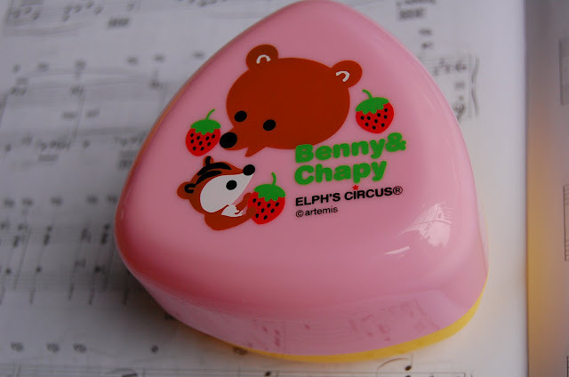 Japanese Snacks/Lunch Bento Box ~ Elph's Circus (Benny&Chappy)