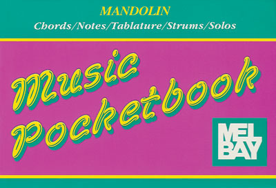 Mandolin Pocketbook/Case Size/Chords/Solos/Strums/Notes/Tablature/OOP