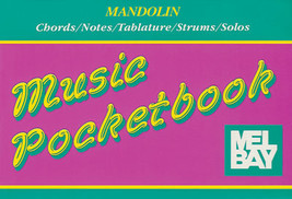 Mandolin Pocketbook/Case Size/Chords/Solos/Strums/Notes/Tablature/OOP - $1.25