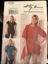 Vogue V9188 Kayla Kennington Designer Originals Bias Top Size XS-M Patte... - $23.49