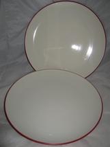 "(2) Noritake ""Colorwave Raspberry"" Dinner PLATES- 10 3/4"" - $10.00"
