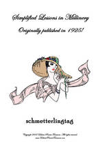 Millinery Book Hat Making Flapper Era Hats Flowers 1925 - $12.99