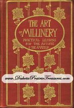 Millinery Book Hat Making Lessons Yusuf Make Hats 1909 - $17.99