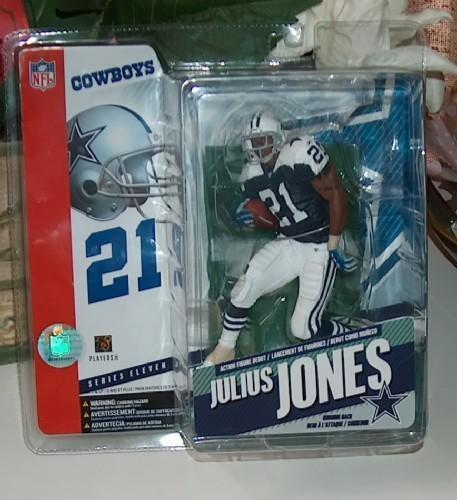 Julius jones cowboys football figure
