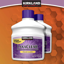 Kirkland LaxaClear 1700 Grams 2 Bottles 50 Doses Each 3 month supply FRE... - $30.97