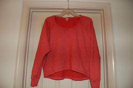 Splendid Juniors Top Small Long Sleeve Scoop Neck Sweatshirt - $20.00