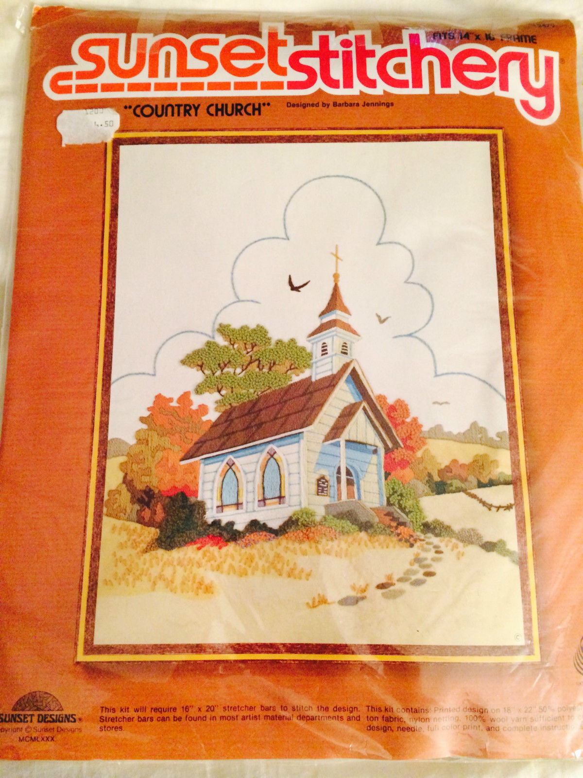 Sunset Stitchery Country Church Embroidery And Similar Items 57