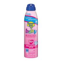 (qty-4) Banana Boat Baby Broad Spectrum Sunscreen Spray SPF 50+, 6 oz - $22.76