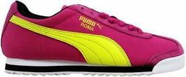 Puma Roma SL NBK 2 Cabaret/Fluo Yellow-Black 355494 02 Women's - $52.99