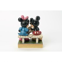 "6.5"" ""Sharing Memories"" Mickey & Minnie Mouse - Jim Shore Disney Traditions image 2"