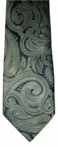 "Van Heusen Men's Silk Neck Tie Navy Blue Paisley 57.5"" NWOT - $12.86"
