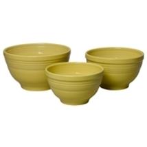 Fiesta 3 Piece Baking Bowl Set Sunflower  - $159.99