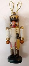 Nutcracker Wooden Ornament (N) - $7.50