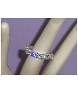 Sterling Silver Anniversary CZ Simulated Diamon... - $19.97