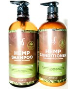 Herstyler 33.8 Oz Hemp Oil Cleanses & Refreshes Hair Shampoo & Condition... - $38.99