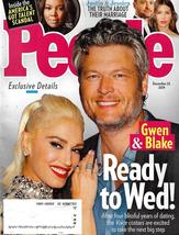 People Magazine December 23, 2019 GWEN & BLAKE READY TO WED - $4.99