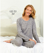 Loungewear Set Comfy Giftable in a Bag Navy or Gray Medium to 3XL Mix an... - $64.95