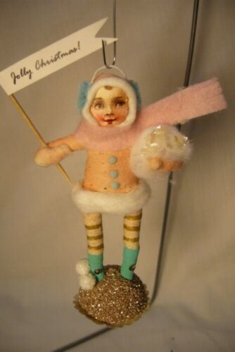 Vintage Inspired Spun Cotton, Bundled - Up Girl