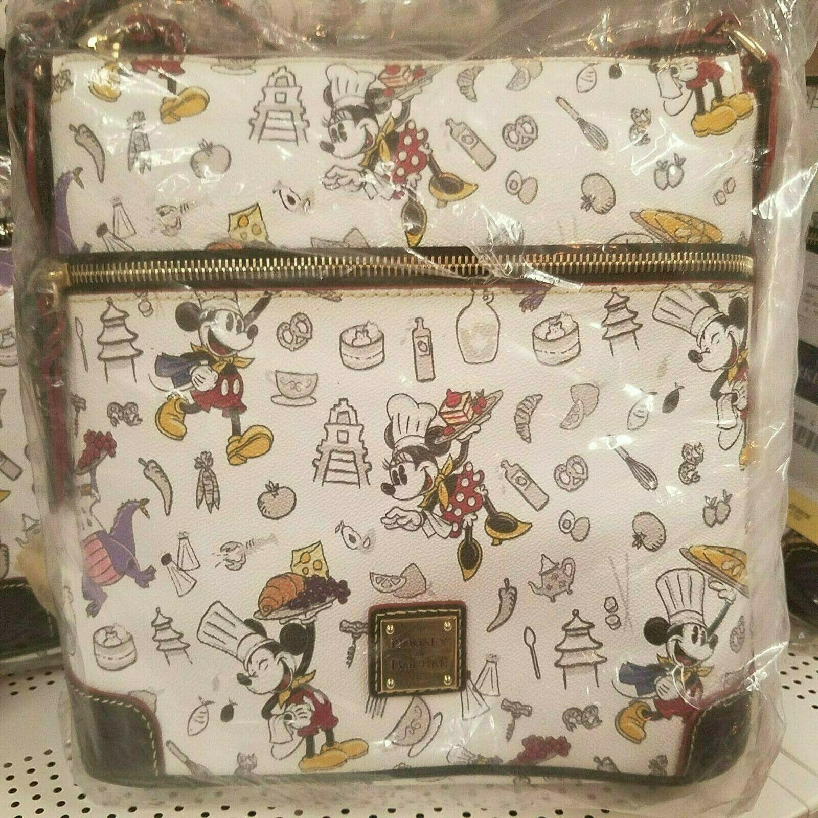 Disney Dooney & Bourke Mickey Mouse 2018 Food and Wine Festival Crossbody Bag - $247.49