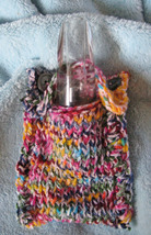 Clarinet Mouthpiece Pouch/Handcrafted/OOAK/Colorful/For Bb Clarinets - $11.99