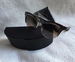 Prada Sunglasses DIXIE SPR 68O Havana 5AV-6S1 CAT EYE 49mm NEW - £158.12 GBP