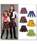 McCalls Pattern M5969 Girls Skirts Size 3, 4, 5 & 6 - $12.00