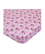 """Disney Minnie Mouse Bows are Best Baby Crib Sheet, 28"""" X 52"""" Pink Girls - $19.95"""