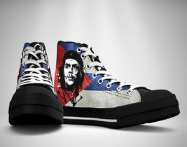 Che Guevara Canvas Sneakers Shoes - $49.99
