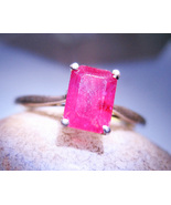 Haunted ring ALLURE COMFORT SECURITY GLAMOUROUS SPELL 925 RUBY WITCH Cassia4  - $47.82