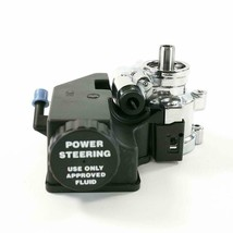 Power Steering Pump GM Aluminum Type II with Integral Reservoir (Chrome) image 2