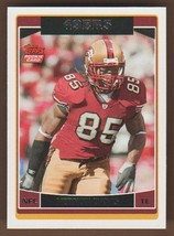 Vernon Davis 2006 Topps Rookie Card S.F. 49'ERS #363 Card Is Pack Fresh NM/MT - $1.75