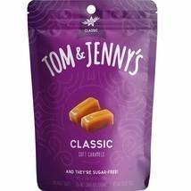Tom & Jenny's Sugar Free Soft Caramel Chewy Candy w/Sea Salt Xilytol 2.9... - $9.99