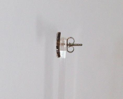 Sterling Silver Butterfly Stud Earrings by Gertrude Zachary, New