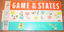 GAME OF THE STATES 1960 MILTON BRADLEY #4920 MADE IN USA COMPLETE EXCELLENT - $35.00