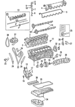 Genuine Mercedes-Benz Vibration Damper 275-030-00-03 - $424.18