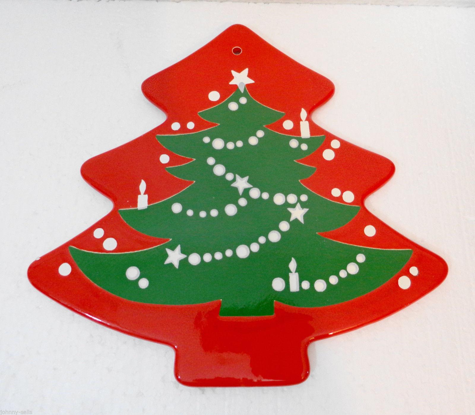 Waechtersbach Christmas Tree Shaped Trivet Wall Hanging ...