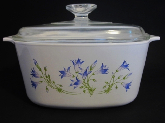 Primary image for Corning Ware Blue Dusk 3 Liter Casserole Pyroceram A-2-B
