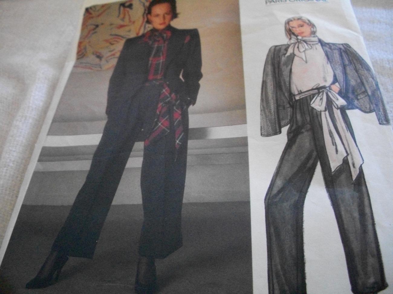 Woman's Jacket, Pants & Blouse Pattern Vogue 1448