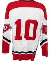 Custom Name # Cleveland Barons Retro Hockey Jersey New White Any Size image 2