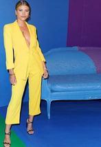 Simenual Fashion Office Lady Blazer Set Solid V Neck Autumn Winter Women Pantsui image 2