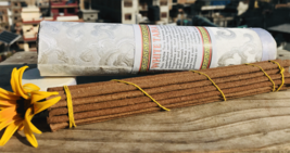 White Tara Brocade Tube  Tibetan Incense Stick - $3.96