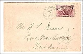 1894 Saint Clairsville OH Discontinued/Defunct (DPO) Post Office Postal ... - $9.95