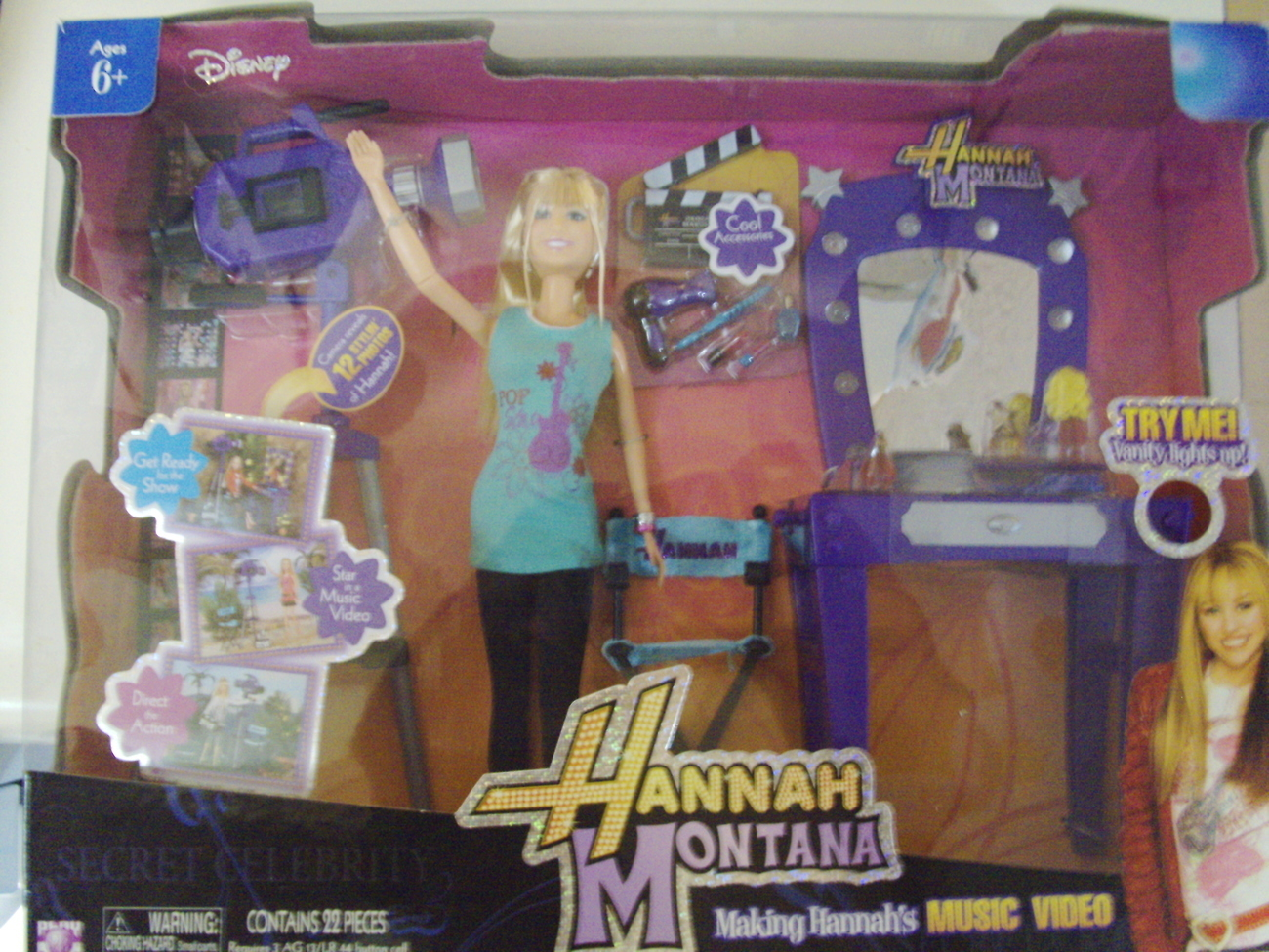 Primary image for Disney Hannah Montana Making Hannah's Music Video ( Miley Cyrus ) - New