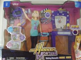 Disney Hannah Montana Making Hannah's Music Video ( Miley Cyrus ) - New - $38.00