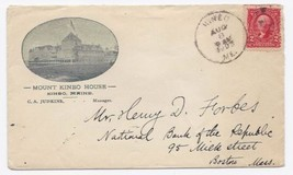 1903 Kineo ME Discontinued/Defunct (DPO) Post Office Postal Cover - $9.95