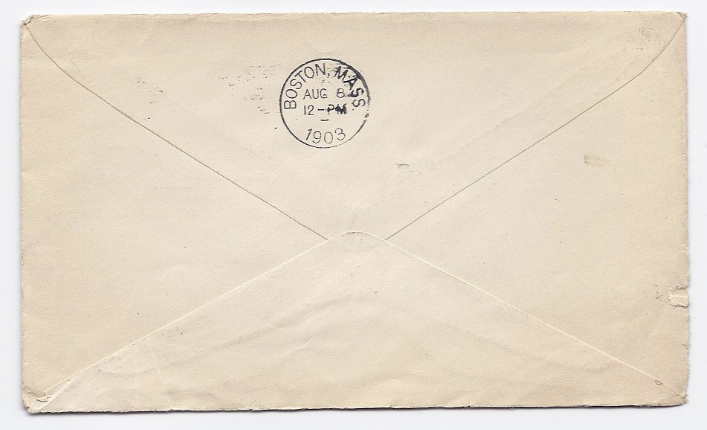 1903 Kineo ME Discontinued/Defunct (DPO) Post Office Postal Cover