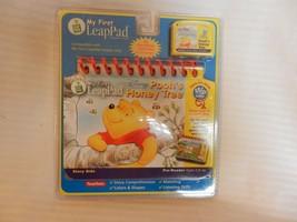 My First LeapPad Disney Pooh's Honey Tree Flip Book & Cartridge Brand New - $11.14