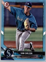 2018 Bowman Draft Sky Blue Baseball You Pick NM/MT 1-200  - $2.99