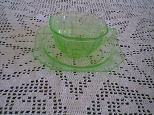 Primary image for GREEN PRINCESS CUP AND SAUCER